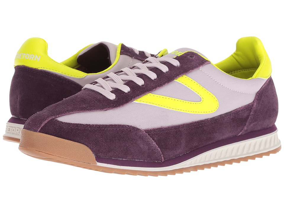 Tretorn Rawlins 2 (Eggplant/Liliac/Fluo Pink) Women's Shoes