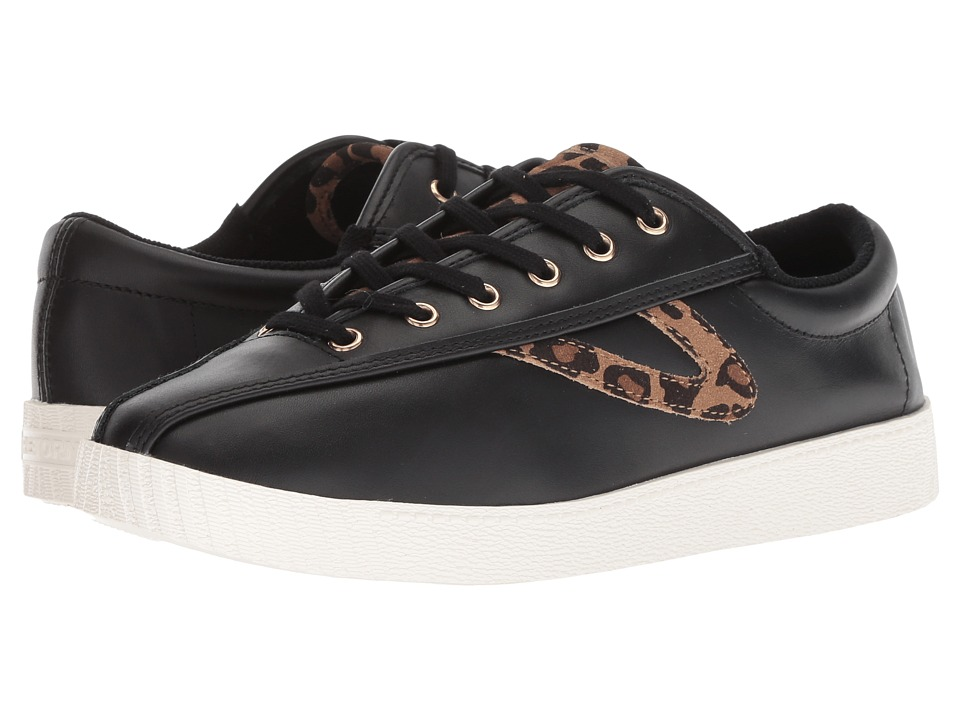 Tretorn Nylite 25 Plus (Black/Tan Multi) Women's Shoes