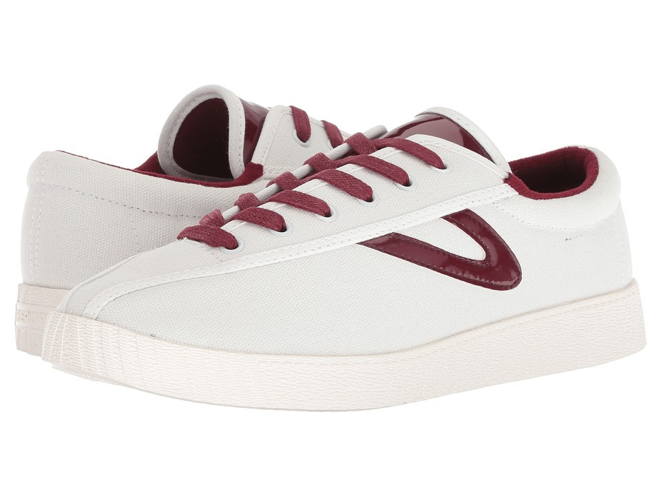 Tretorn Nylite 28 Plus (Vintage White/Cherry) Women's Shoes