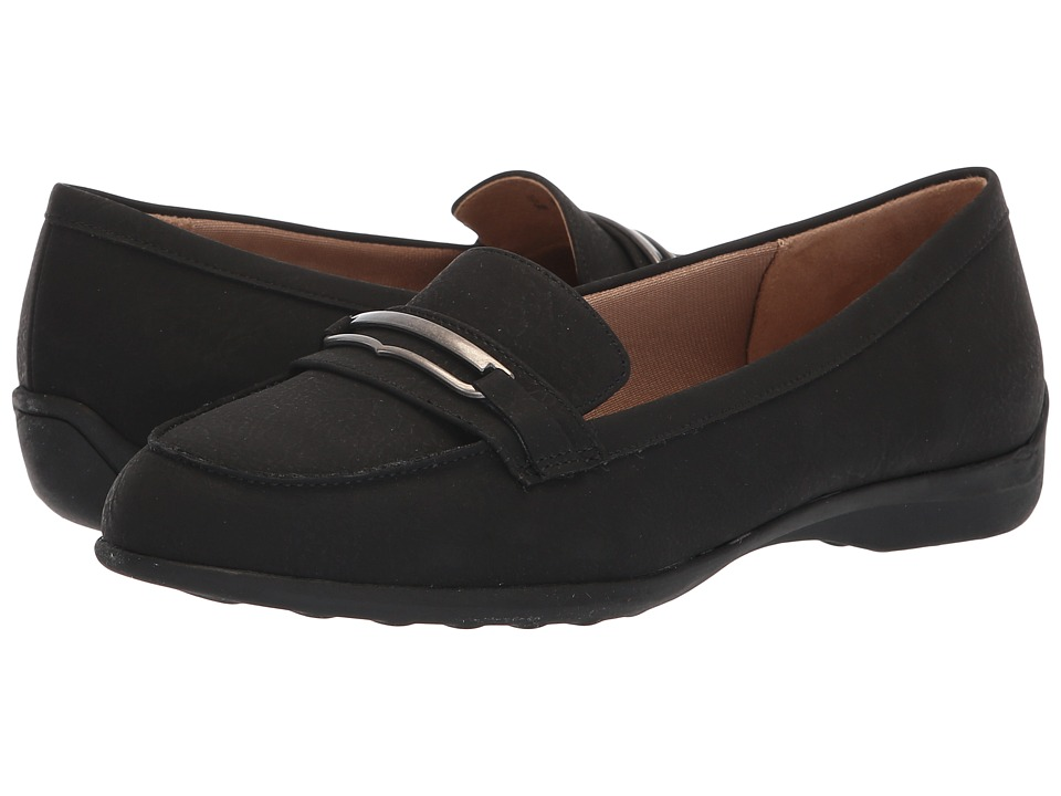 LifeStride Phoebe (Black Great Buck) Women's Shoes