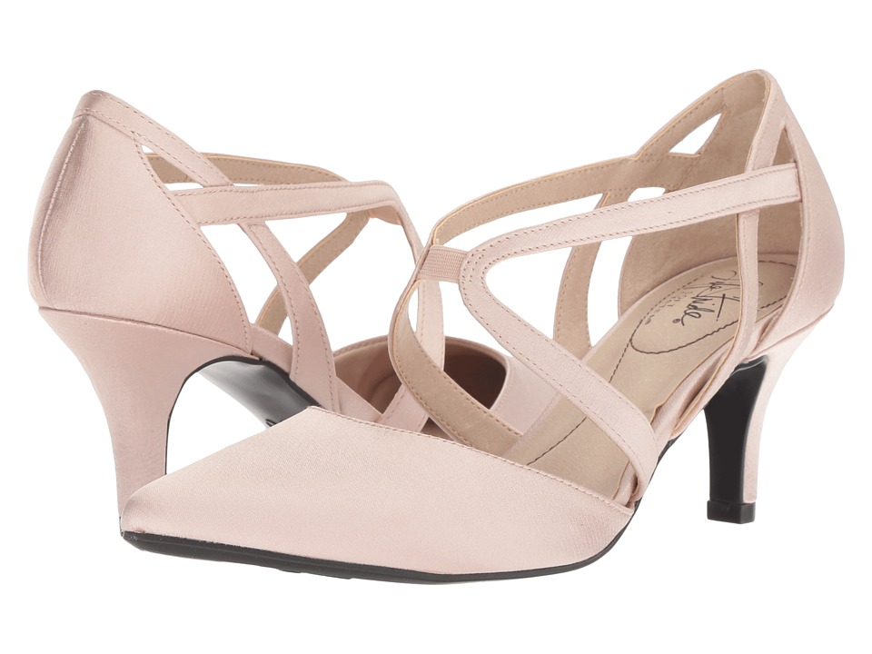 LifeStride Seamless (Rose Gold Textured Coated Satin) High Heels