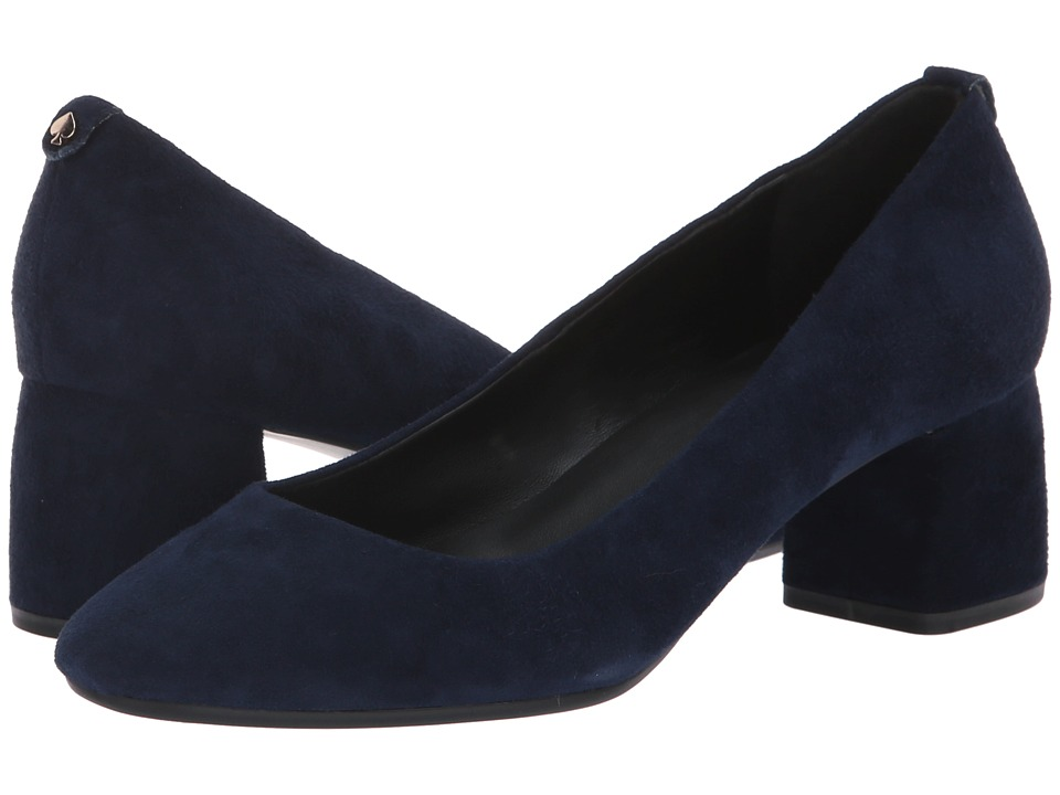Kate Spade New York Beverly (Navy Kid Suede) Women's Shoes