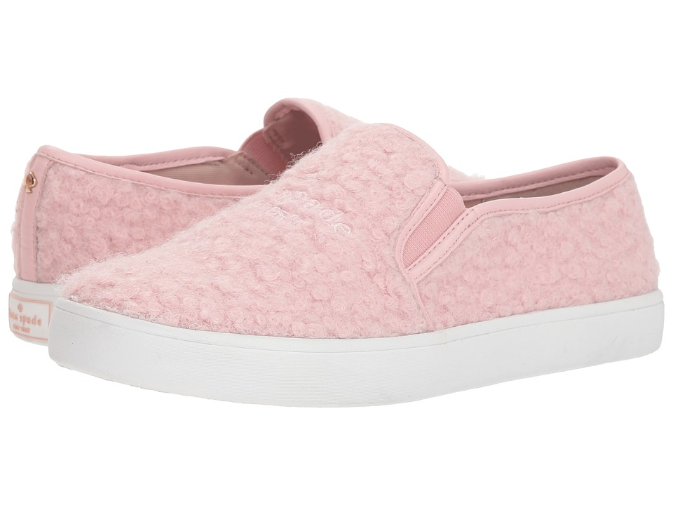 Kate Spade New York Misty (Pale Pink Curly Wool) Women's Shoes