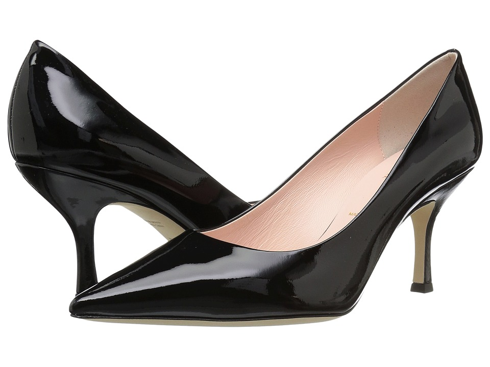 Kate Spade New York Sonia (Black Patent) Women's Shoes