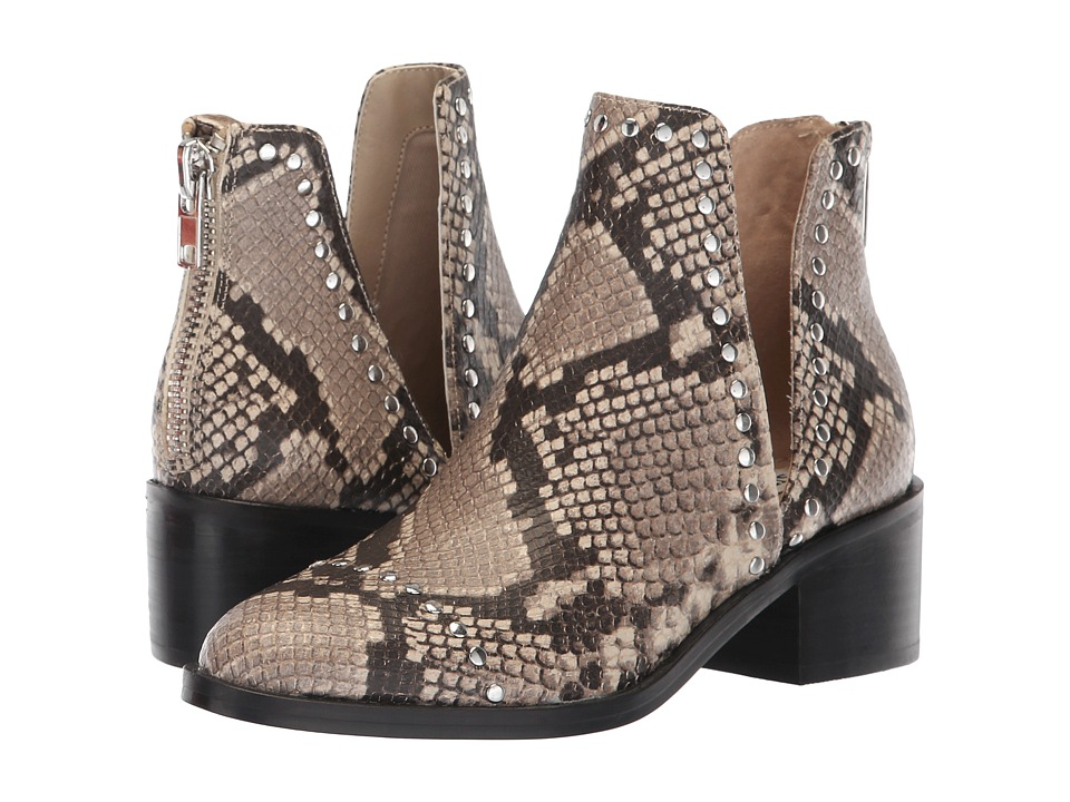 Steve Madden Conspire Bootie (Natural Snake) Slip-On Shoes