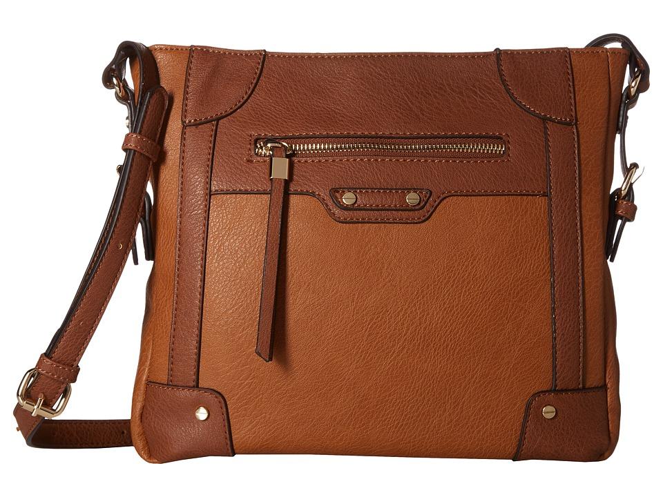 SOLE / SOCIETY - Inez Crossbody (Cognac) Cross Body Handbags