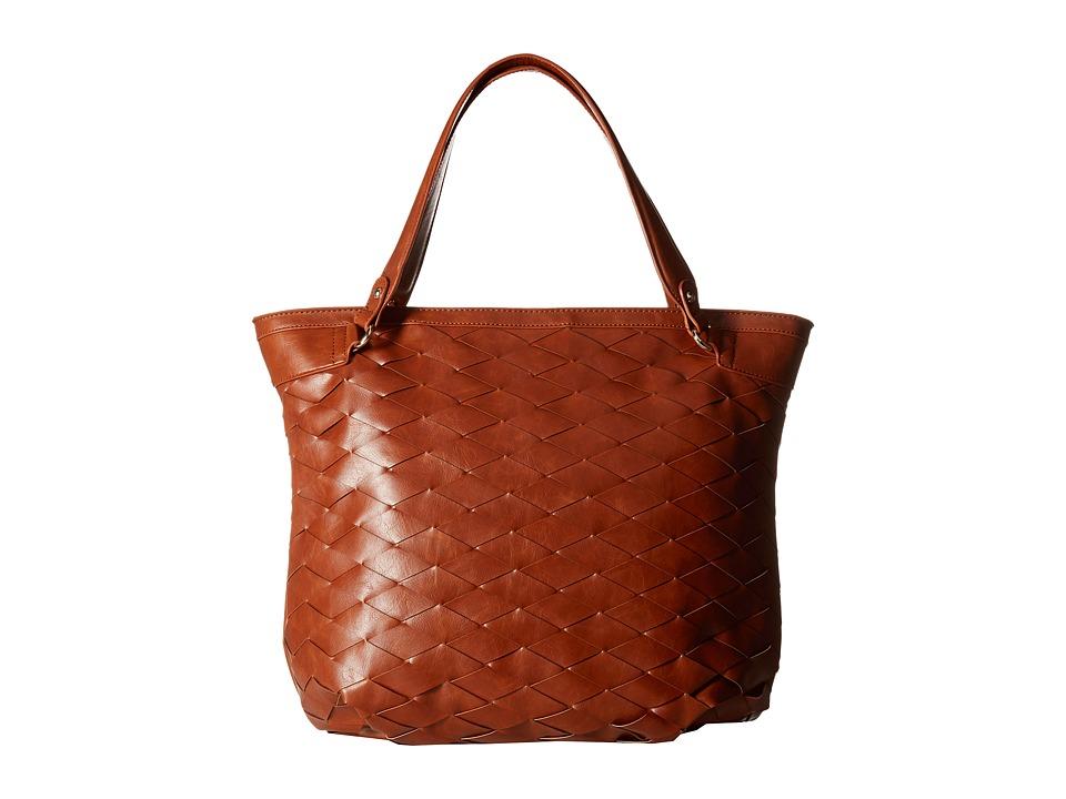 SOLE / SOCIETY - Adrina Tote (Cognac) Handbags