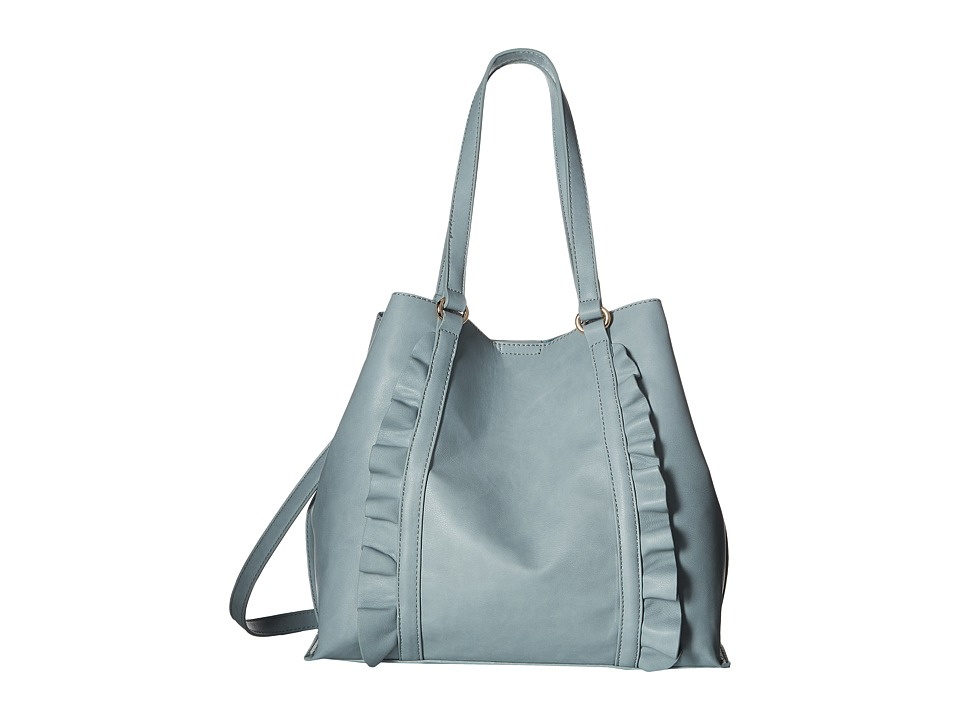 SOLE / SOCIETY - Adelina Tote (Powder Blue) Tote Handbags