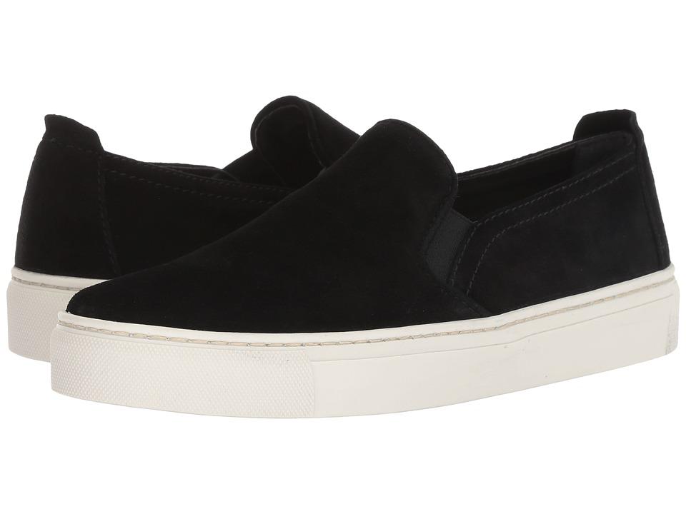 The FLEXX Sneak Name (Black Waterproof Suede) Slip-On Shoes