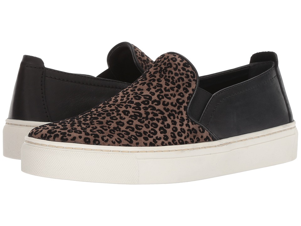 The FLEXX Sneak Name (Sabbia/Black Flock Leo/Manolete) Slip-On Shoes