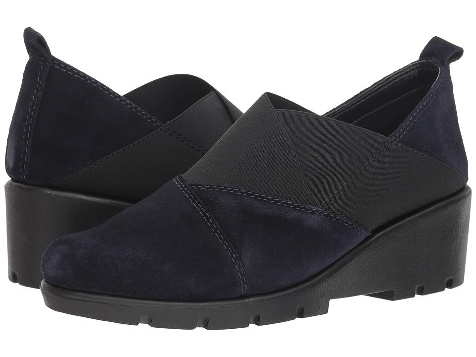 The FLEXX Crosstown (Blue Suede) Women's Shoes