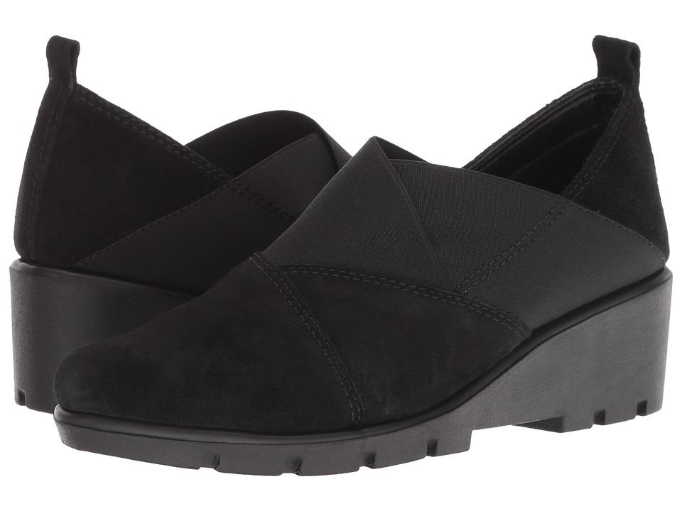 The FLEXX Crosstown (Black Suede) Women's Shoes