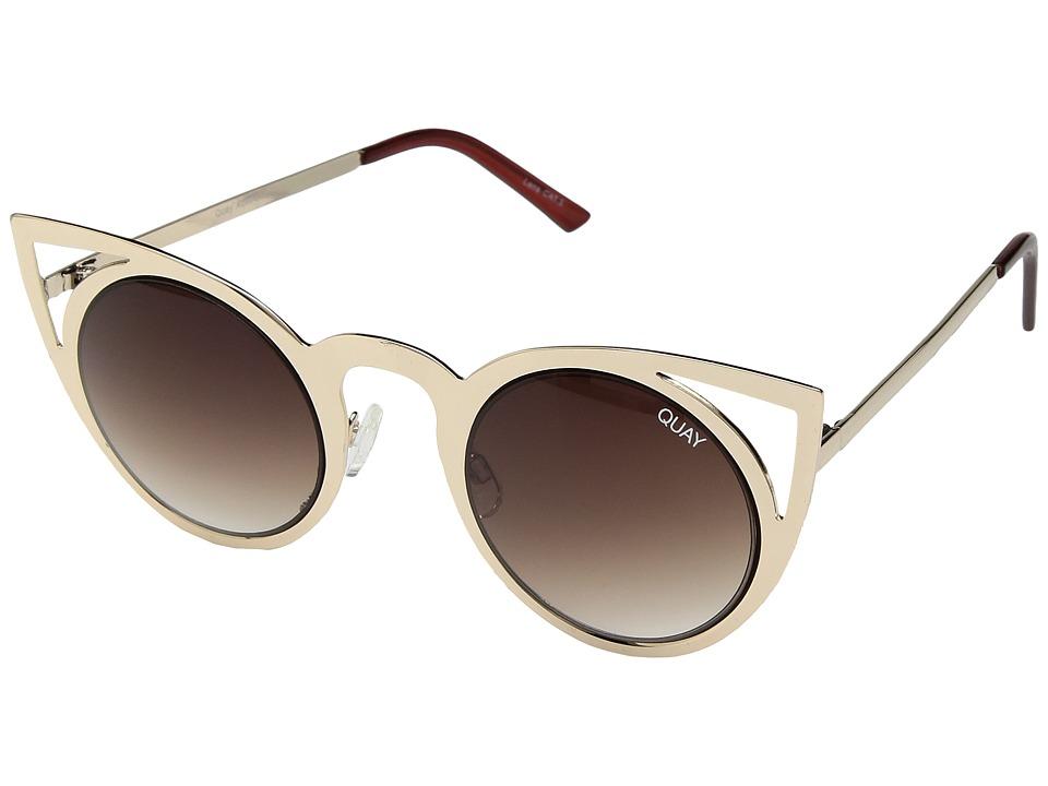 QUAY AUSTRALIA - Invader (Gold/Brown) Fashion Sunglasses