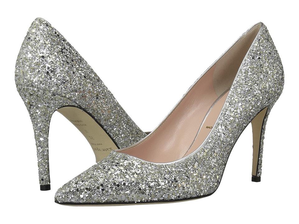 Kate Spade New York Vivian (Silver/Gold Glitter) Women's Shoes
