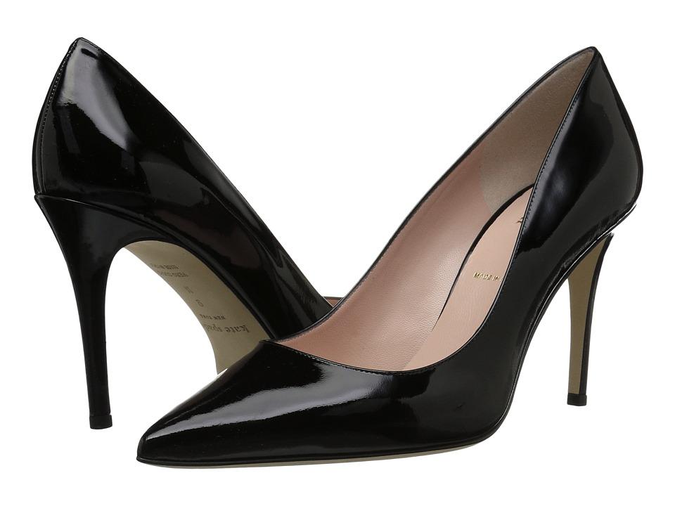 Kate Spade New York Vivian (Black Patent) Women's Shoes