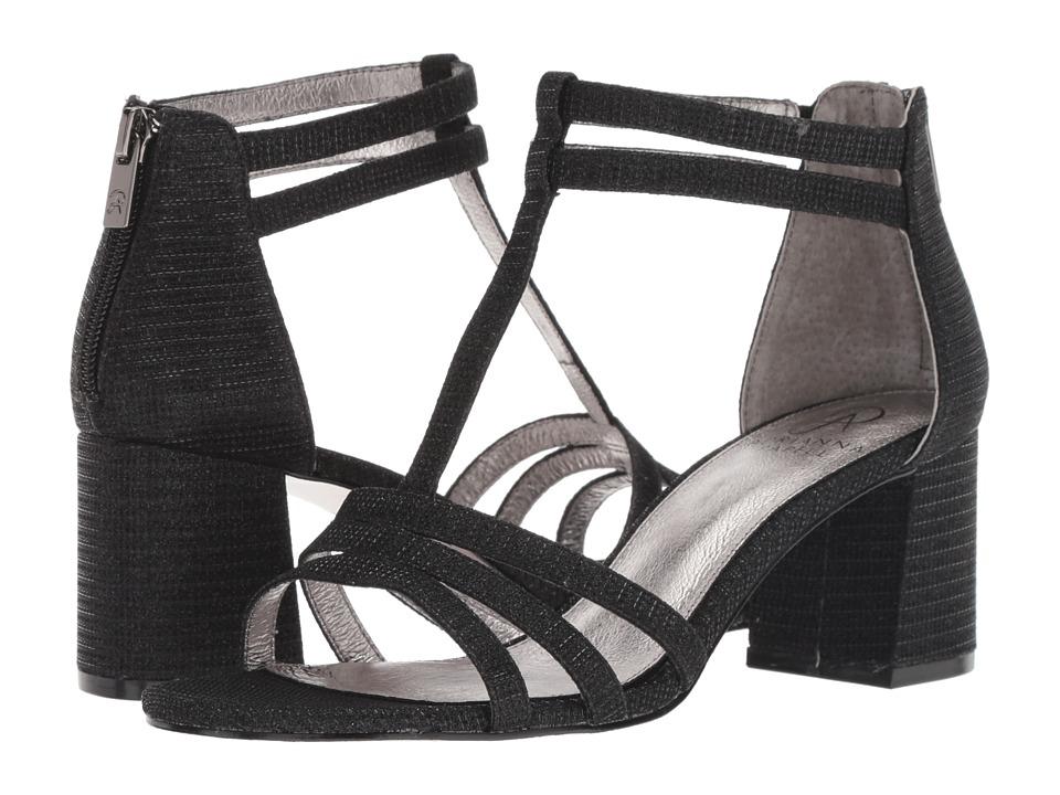 Adrianna Papell Anella (Black Lancelot) Women's Shoes