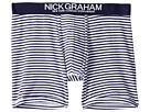 Nick Graham Stripe Stretch Boxer Briefs