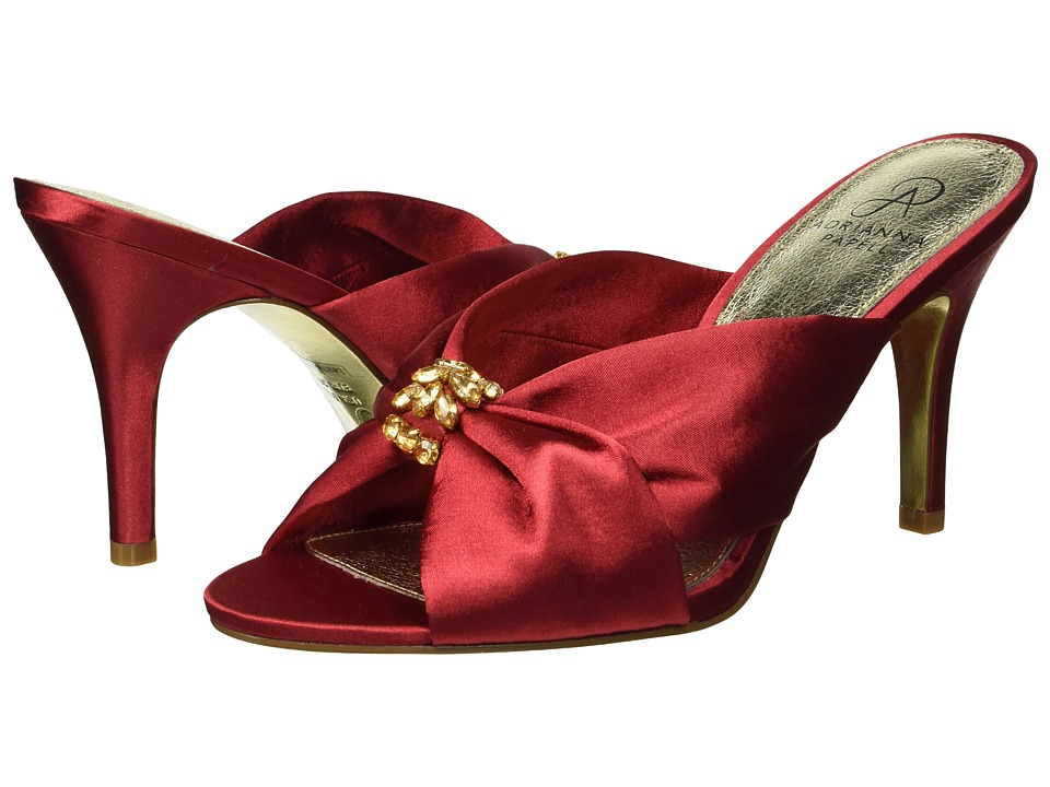 Adrianna Papell Flo (Red Satin) Women's Shoes
