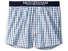 Nick Graham Mini Window Plaid Boxers
