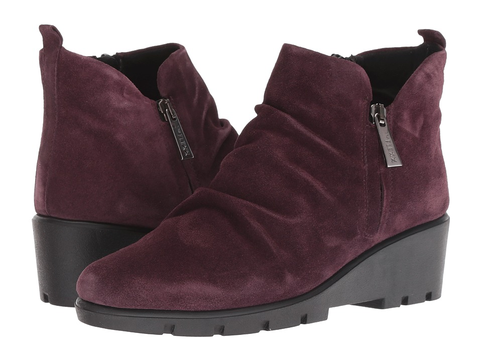 The FLEXX Sling Shot (Bordo Suede) Women's Shoes