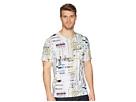 Robert Graham Aquatic Short Sleeve Knit T-Shirt