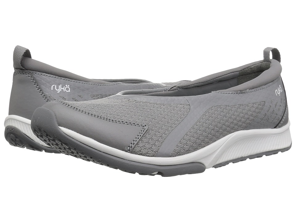 Ryka Finesse (Frost Grey Fabric/PU) Slip-On Shoes