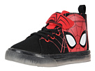 Favorite Characters SPF725 Spider-Mantm Canvas Hi Top (Toddler/Little Kid)