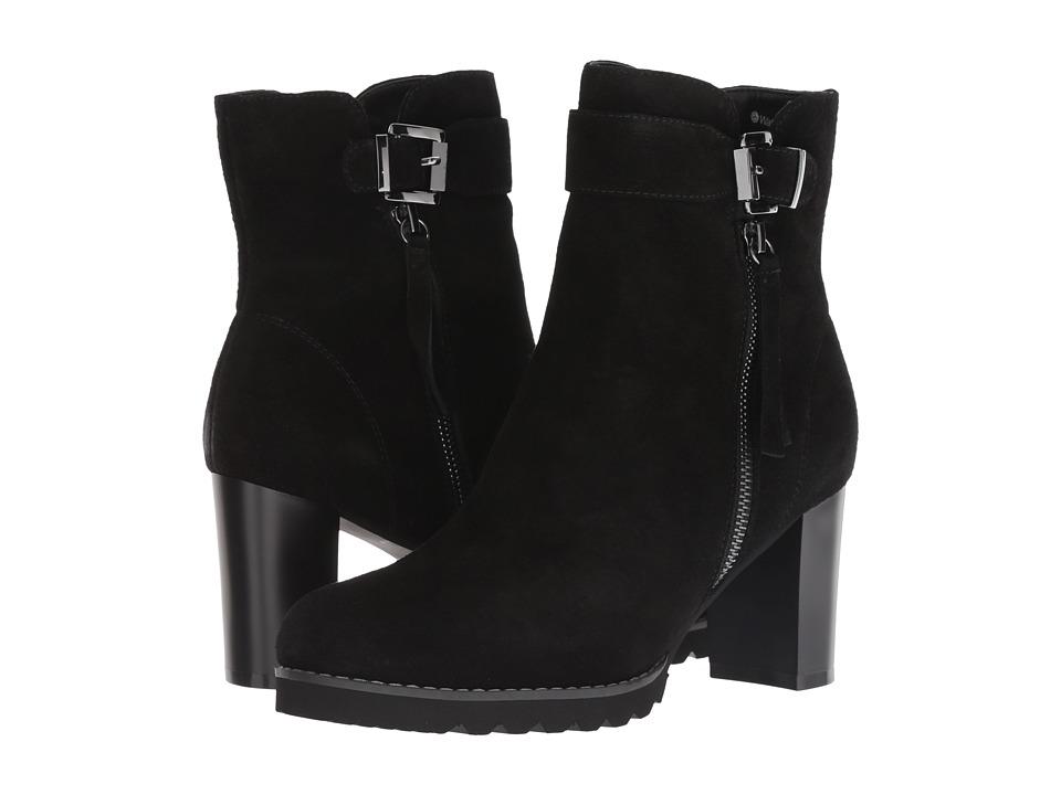 Blondo Anic Waterproof (Black Suede) Women's Shoes