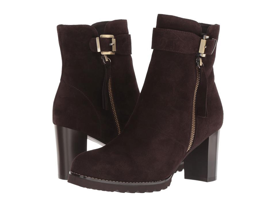 Blondo Anic Waterproof (Brown Suede) Women's Shoes
