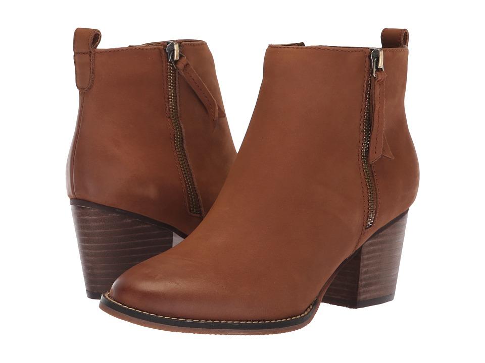 Blondo Vegas 2 Waterproof (Cognac Leather) Women's Shoes