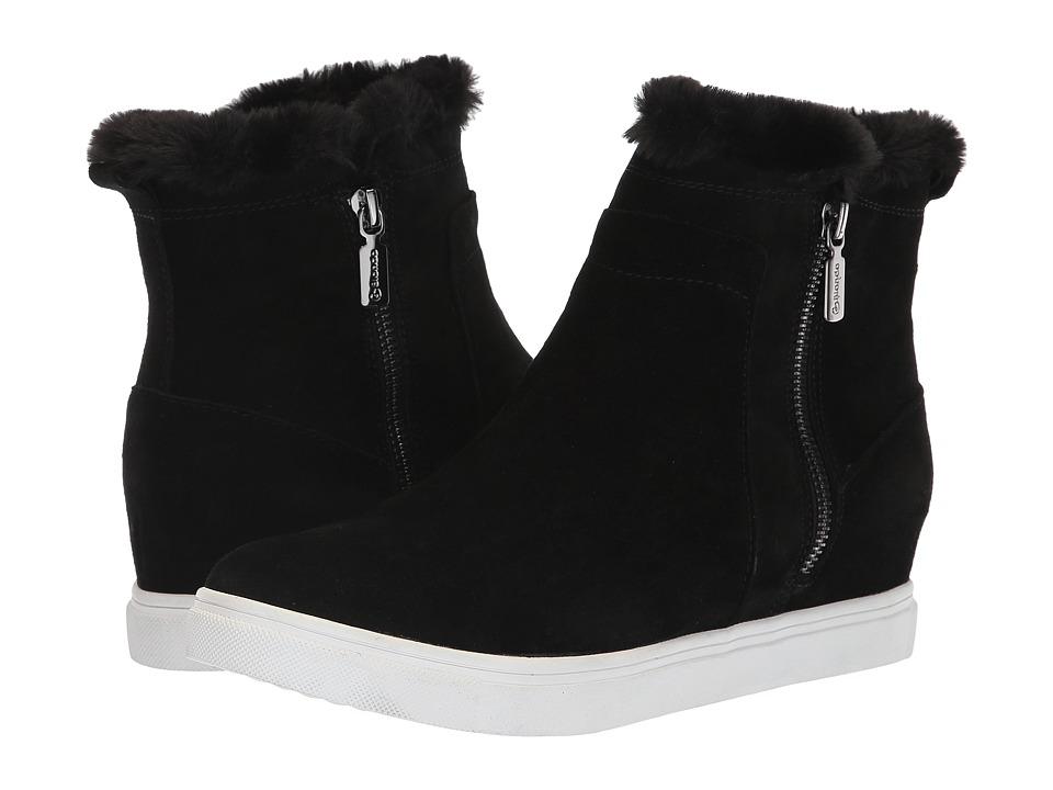 Blondo Glade Waterproof (Black Suede) Women's Shoes