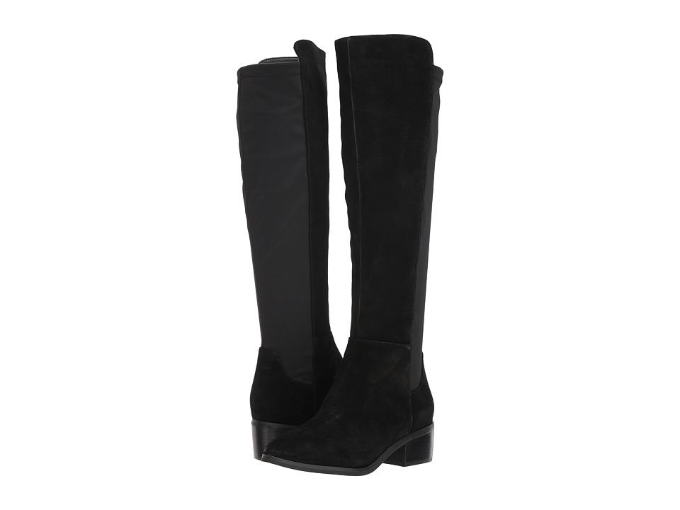 Blondo Gallo Waterproof (Black Suede) Women's Shoes