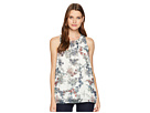 Vince Camuto Vince Camuto Sleeveless Garden Heirloom Floral Blouse