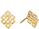 Alex and Ani Endless Knot Post Earrings - Precious Metal