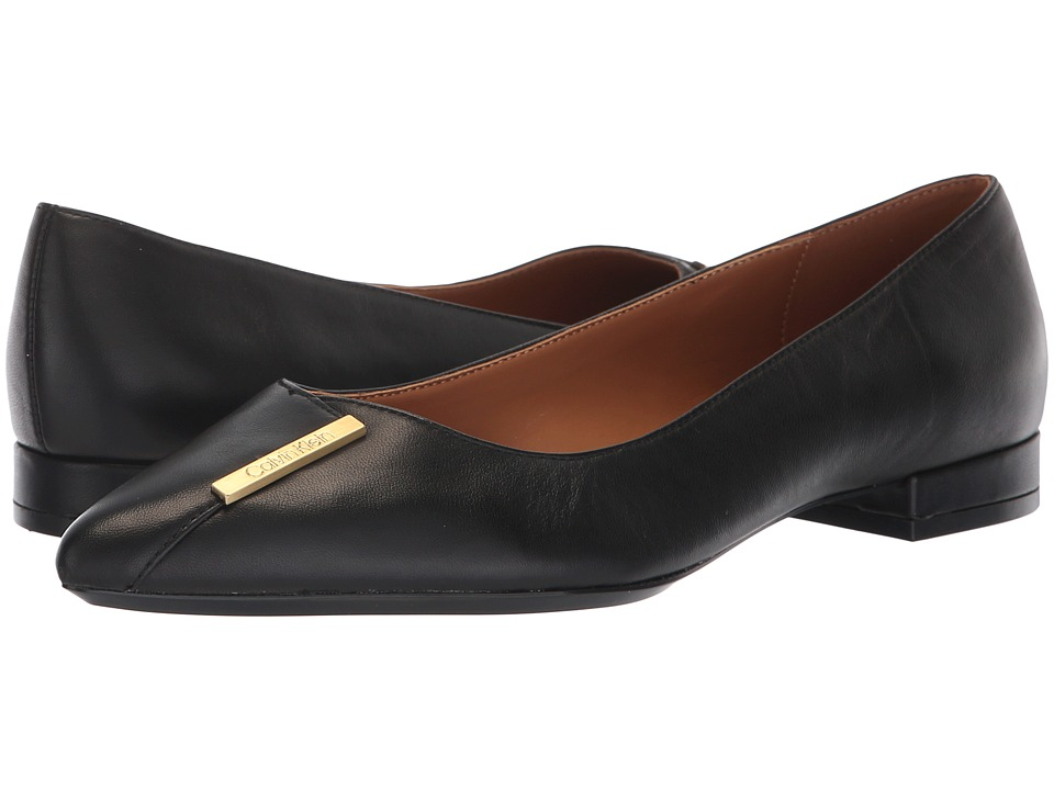 Calvin Klein Arline (Black Nappa) Women's Shoes