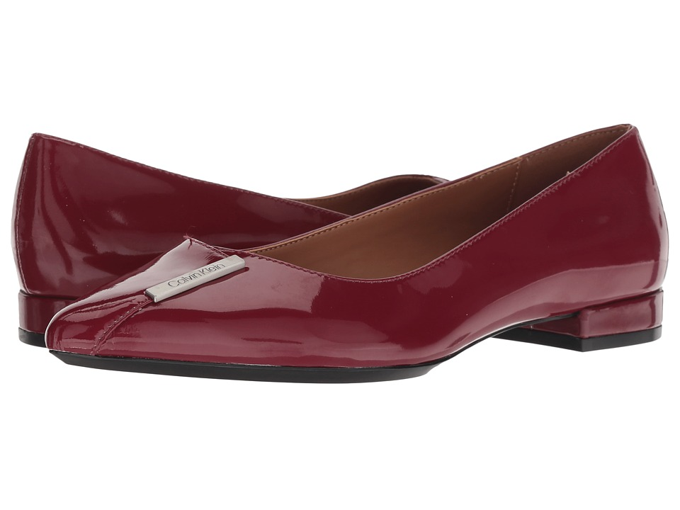 Calvin Klein Arline (Red Rock Patent) Women's Shoes