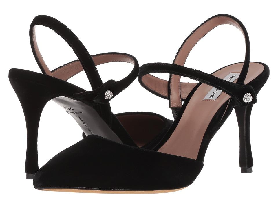 Tabitha Simmons Ariel (Black Velvet) Women's Shoes