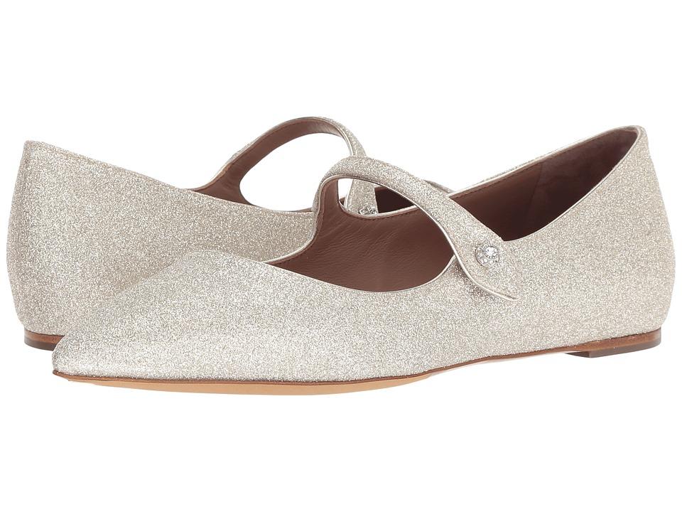 Tabitha Simmons Hermione (Champagne Fine Glitter) Women's Shoes
