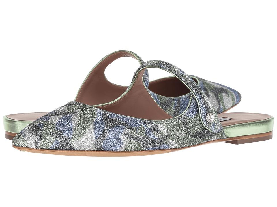 Tabitha Simmons Kittie (Camo Glitter/Mint) Women's Shoes