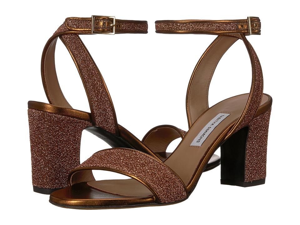 Tabitha Simmons Leticia (Copper Lurex) Women's Shoes