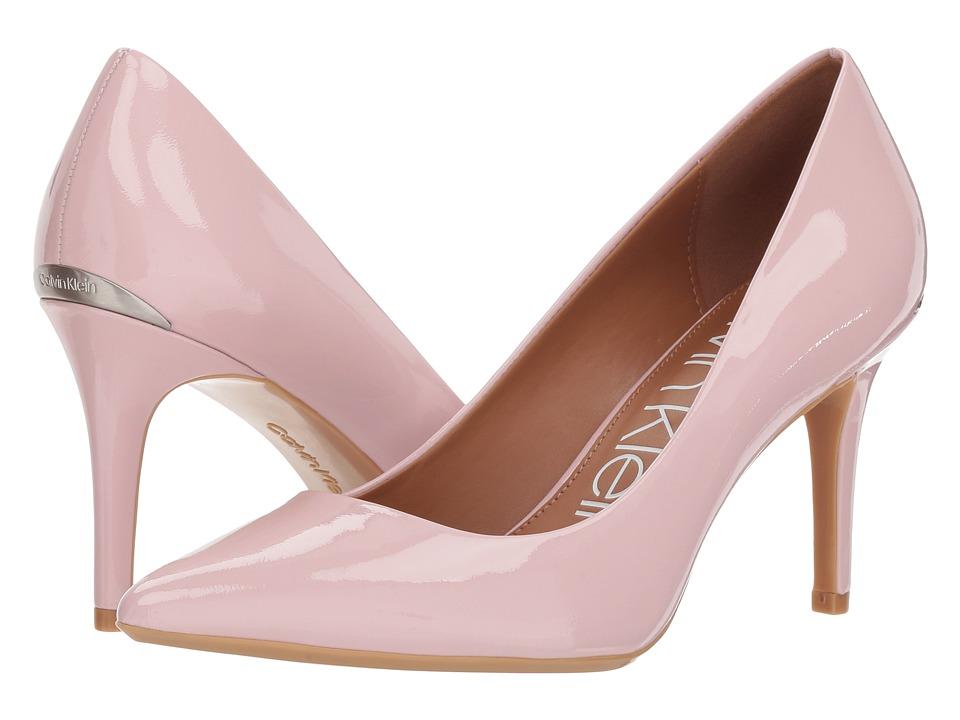 Calvin Klein Gayle Pump (Petal Patent) High Heels