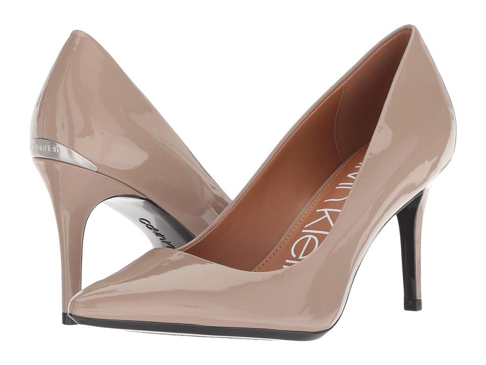 Calvin Klein Gayle Pump (Tobacco Patent) High Heels