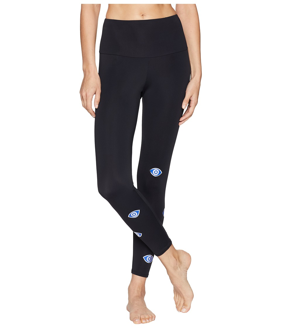Onzie - Foil Leggings (Evil Eye) Womens Casual Pants