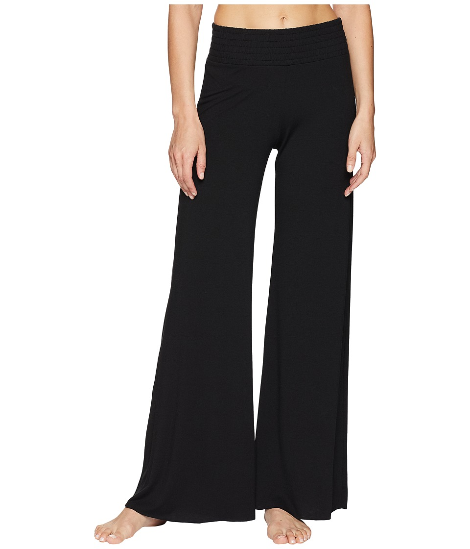Onzie - Palazzo Pants (Black) Womens Casual Pants