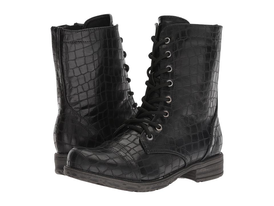 VOLATILE Avox (Black) Women's Lace-up Boots