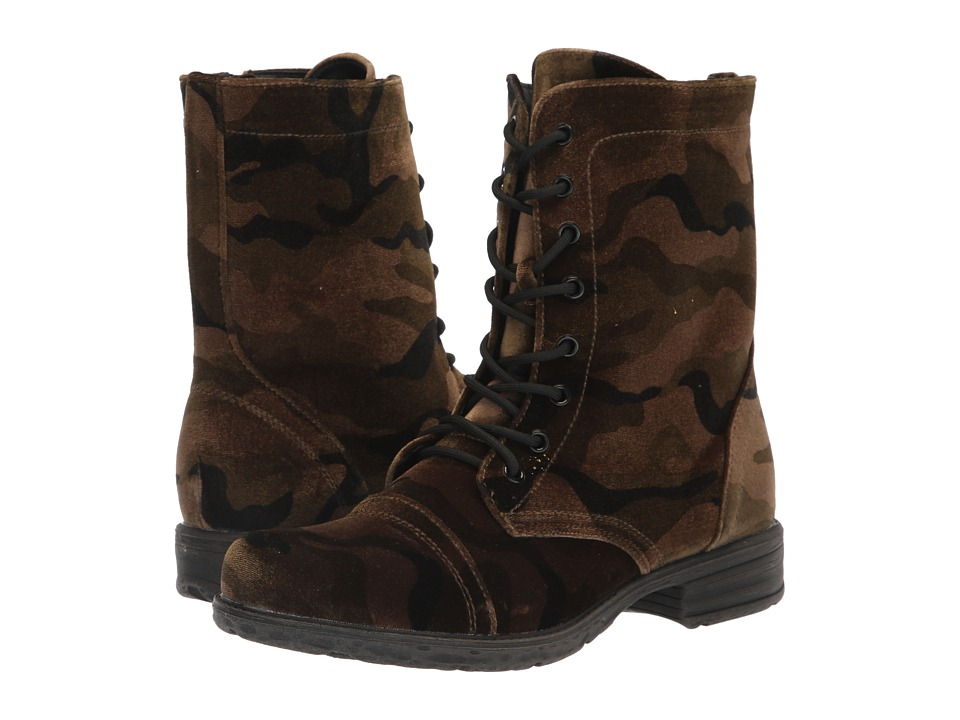 VOLATILE Avox (Camo) Women's Lace-up Boots