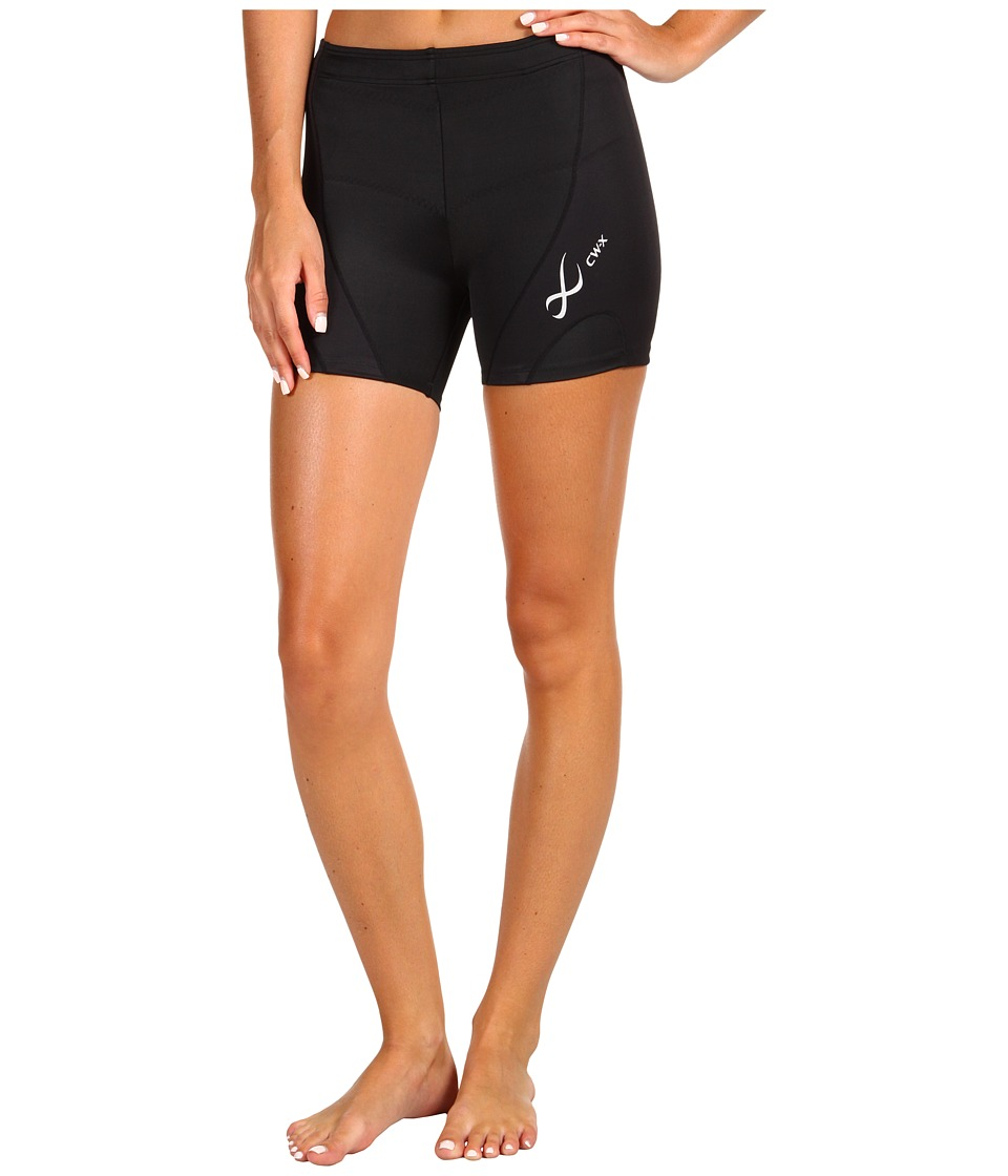 CW-X - Endurance Pro Fit Short (Black) Womens Shorts