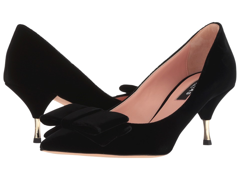 Rochas RO31131 (Black Velvet) Women's Shoes