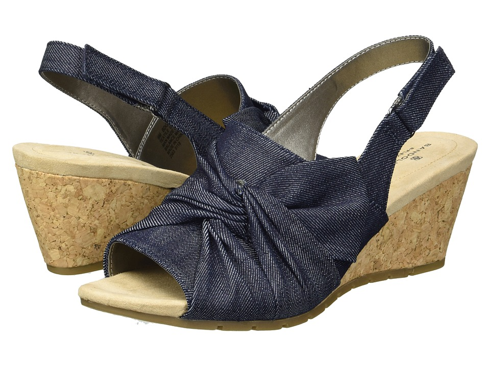 Bandolino Gayla (Dark Blue Spring Denim) Women's Shoes