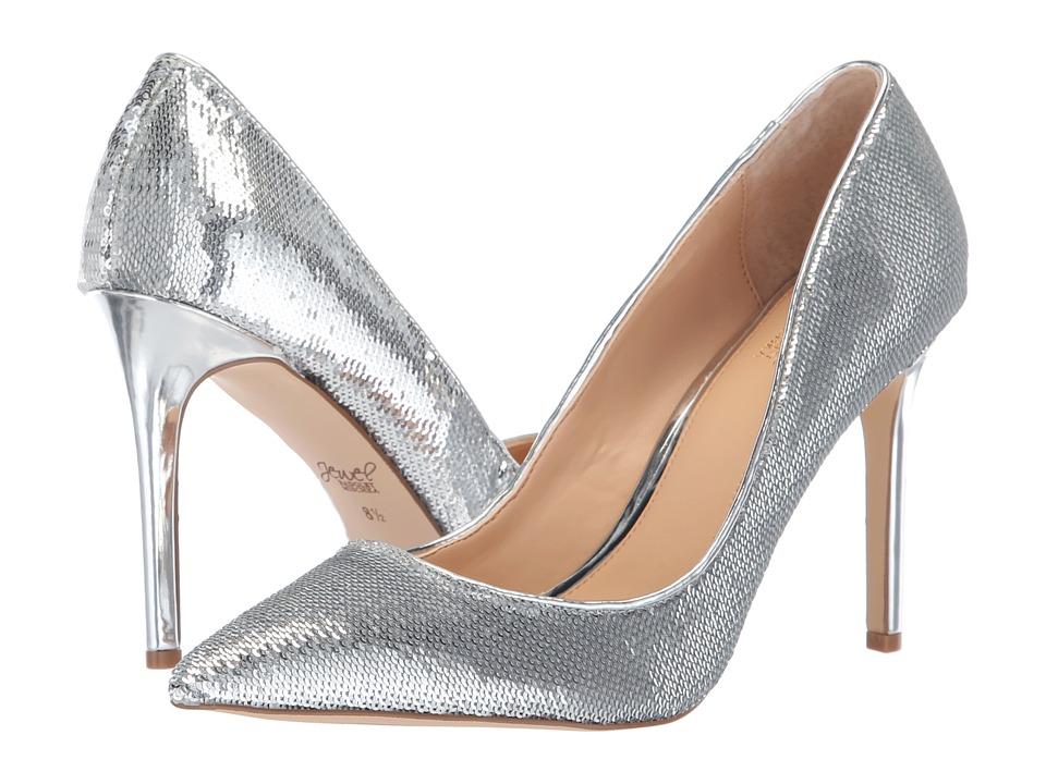 Jewel Badgley Mischka Jade (Silver) Women's Shoes